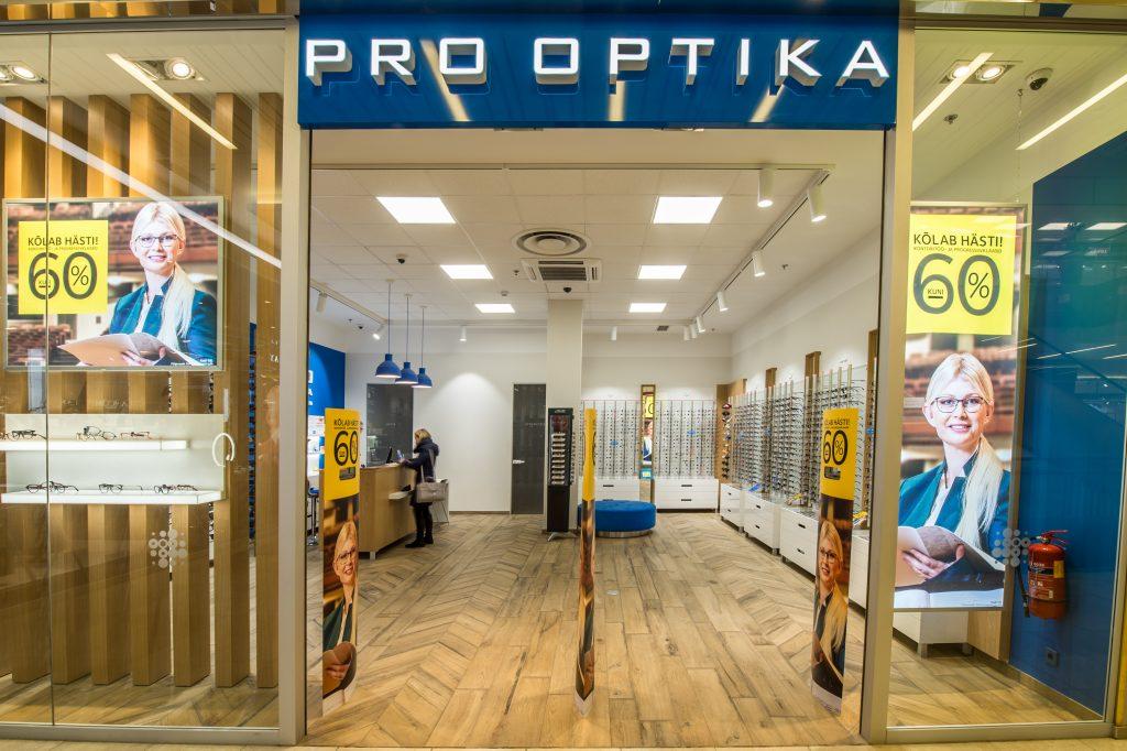 6179fd360ea Pro Optika — Tartu Kaubamaja