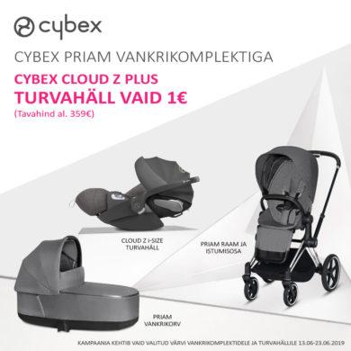 cd92901c984 Cybex Priam+Cloud — Tartu Kaubamaja